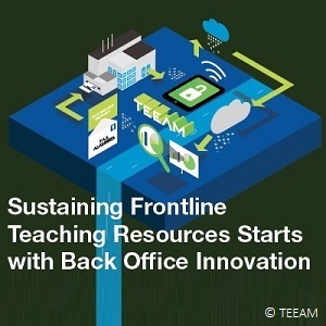 Sustaining Frontline Teaching Resources Starts with Back Office Innovation